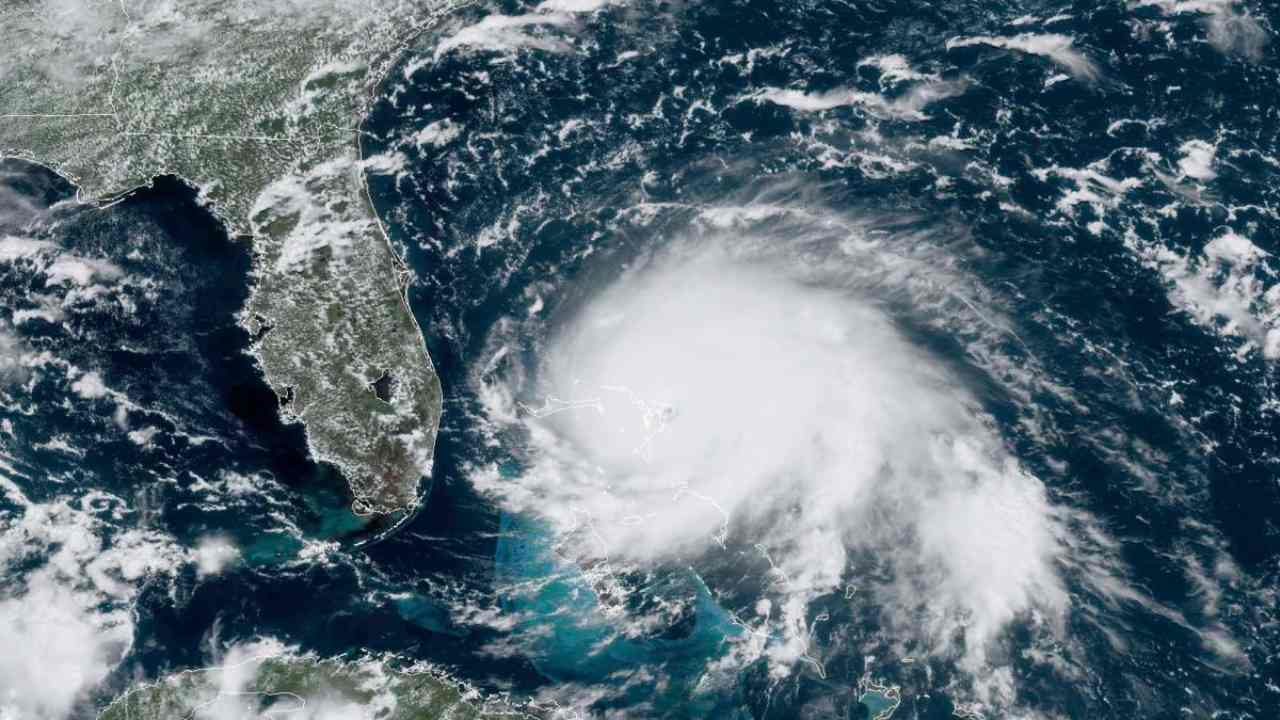 Climate change is causing warmer seas which leads to stronger hurricanes, more destruction