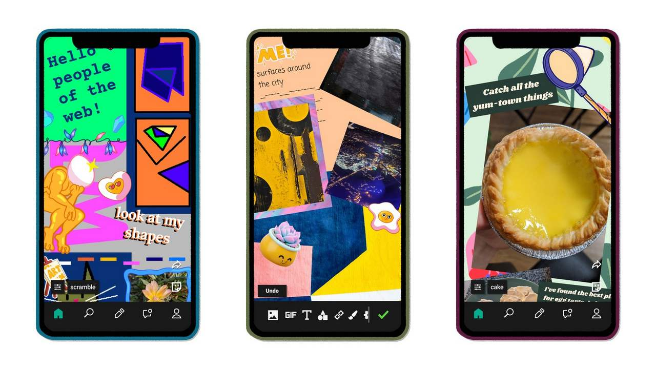 Facebook launches an experimental collage making app called E.gg that lets users design their own webpages