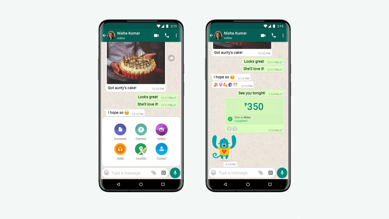 How to make payments on WhatsApp