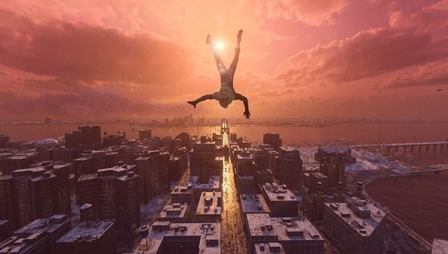 Captured via Photo Mode in Marvel's Spider-Man: Miles Morales