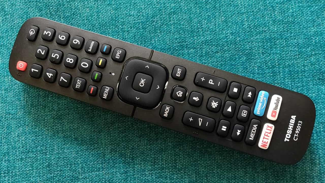 Toshiba 50U5050 4K Smart TV remote