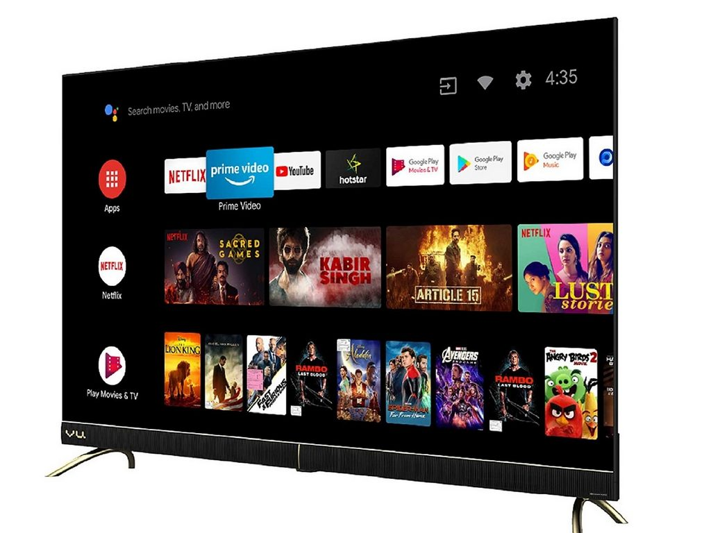 From Vu to Xiaomi to Hisense: Here are the top 5 budget 4K Smart TVs of 2020 in India
