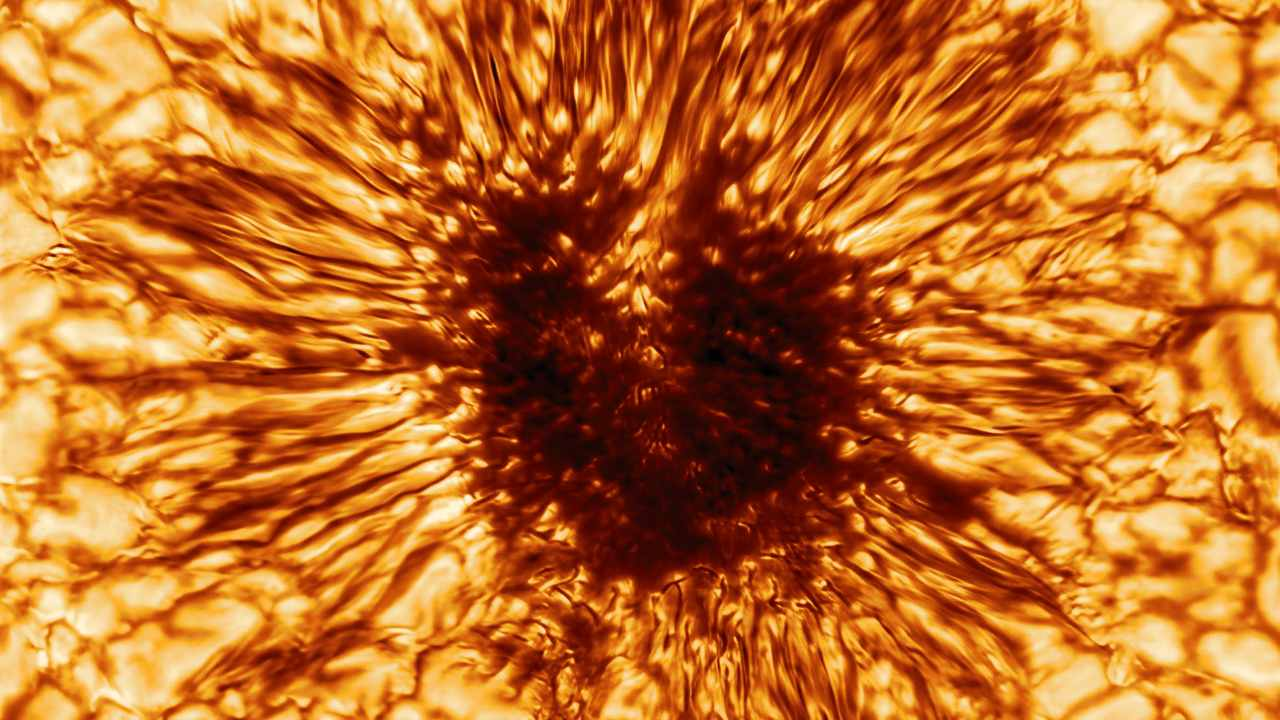 Inouye Solar Telescope reveals most detailed first-ever image captured of a sunspot