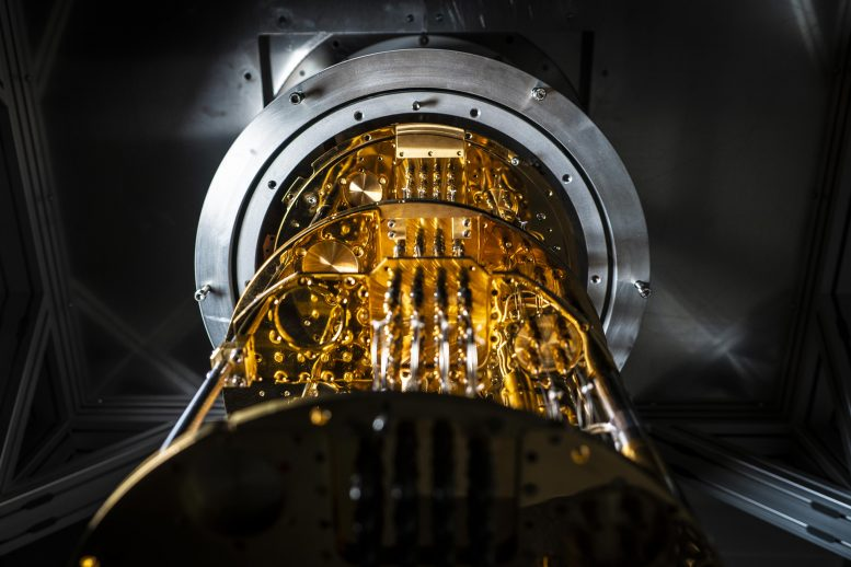 Chalmers Quantum Computer Cryostat