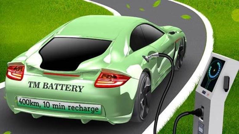 Thermally Modulated Battery for Electric Vehicles
