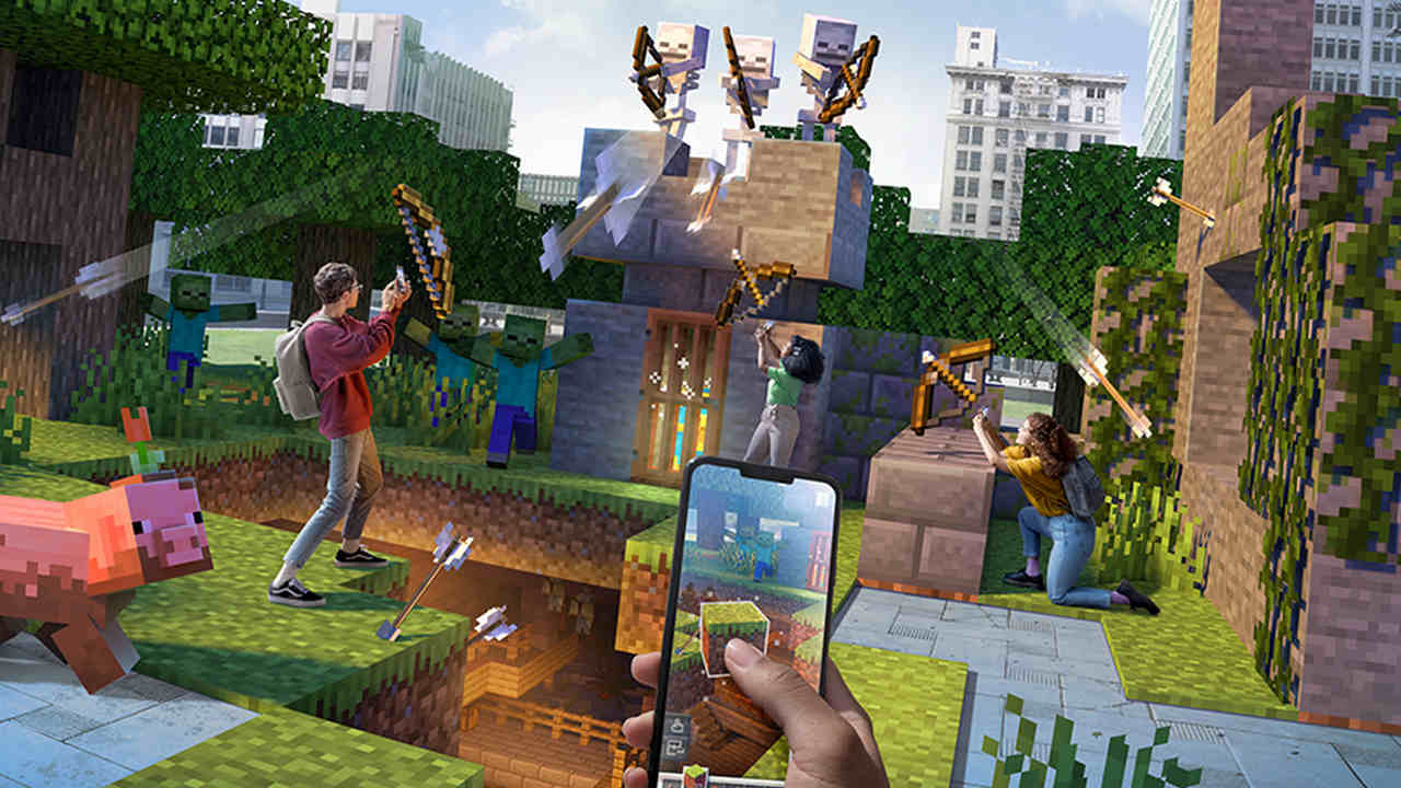 Minecraft Earth to shut down in June 2021 as current global situation limits free movement and collaborative play