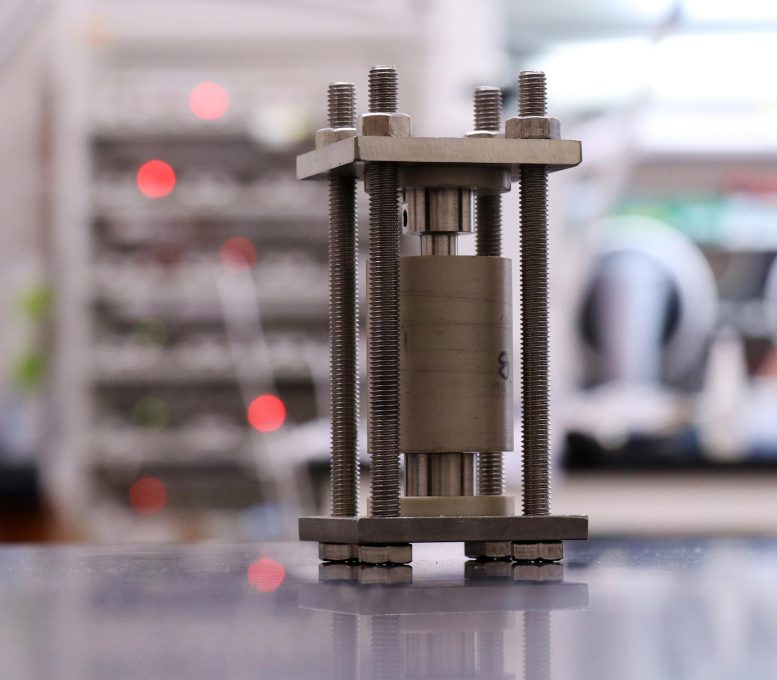Solid-State Battery Test Cell
