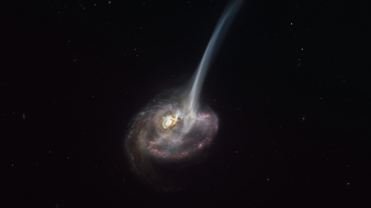 Scientists witness the death of a galaxy 9 million light-years away unfold, in a remarkable first