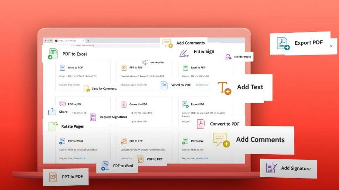 Adobe Acrobat introduces new tools to web including split PDFs, add passwords and more