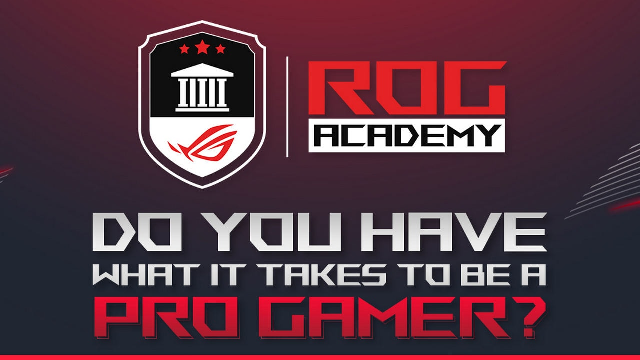 Asus ROG begins a virtual incubation program for gamers to prep them for e-sport tournaments