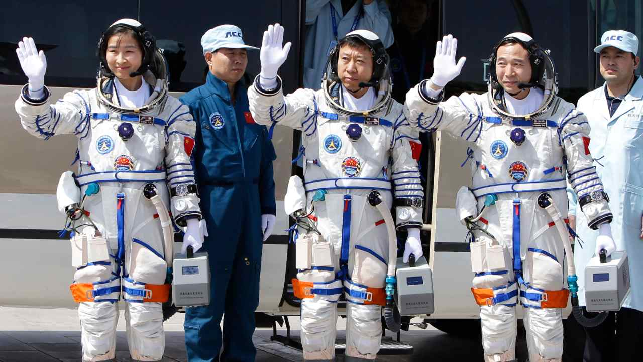 Astronauts in training for crewed missions to Chinas upcoming space station: CNSA