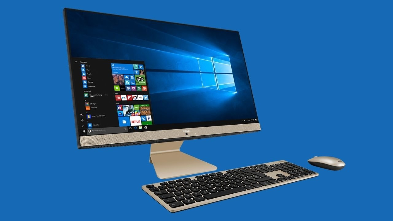 ASUS AiO V241 all-in-one PC with Intel 11th gen Tiger-lake Core i5 processor launched in India at Rs 61,990