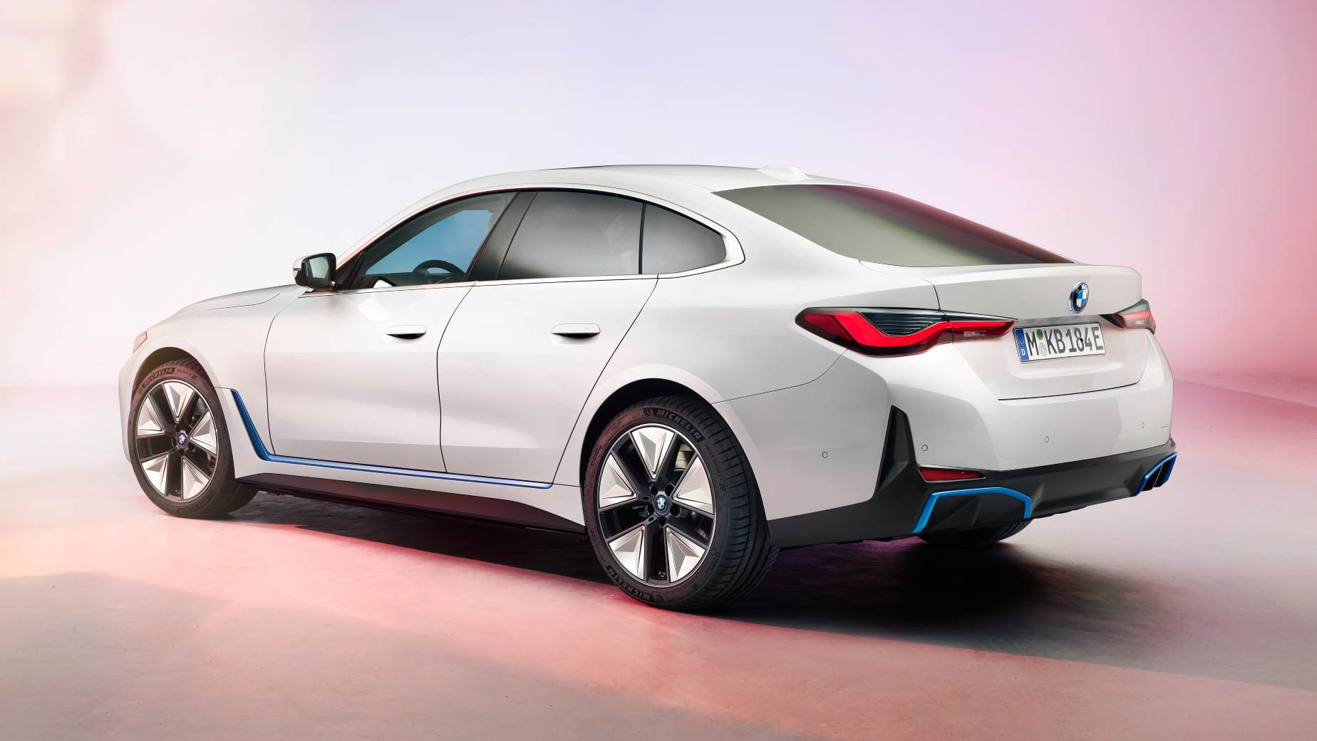The i4 will join the i3 hatchback and iX3 and iX SUVs in the BMW i range. Image: BMW