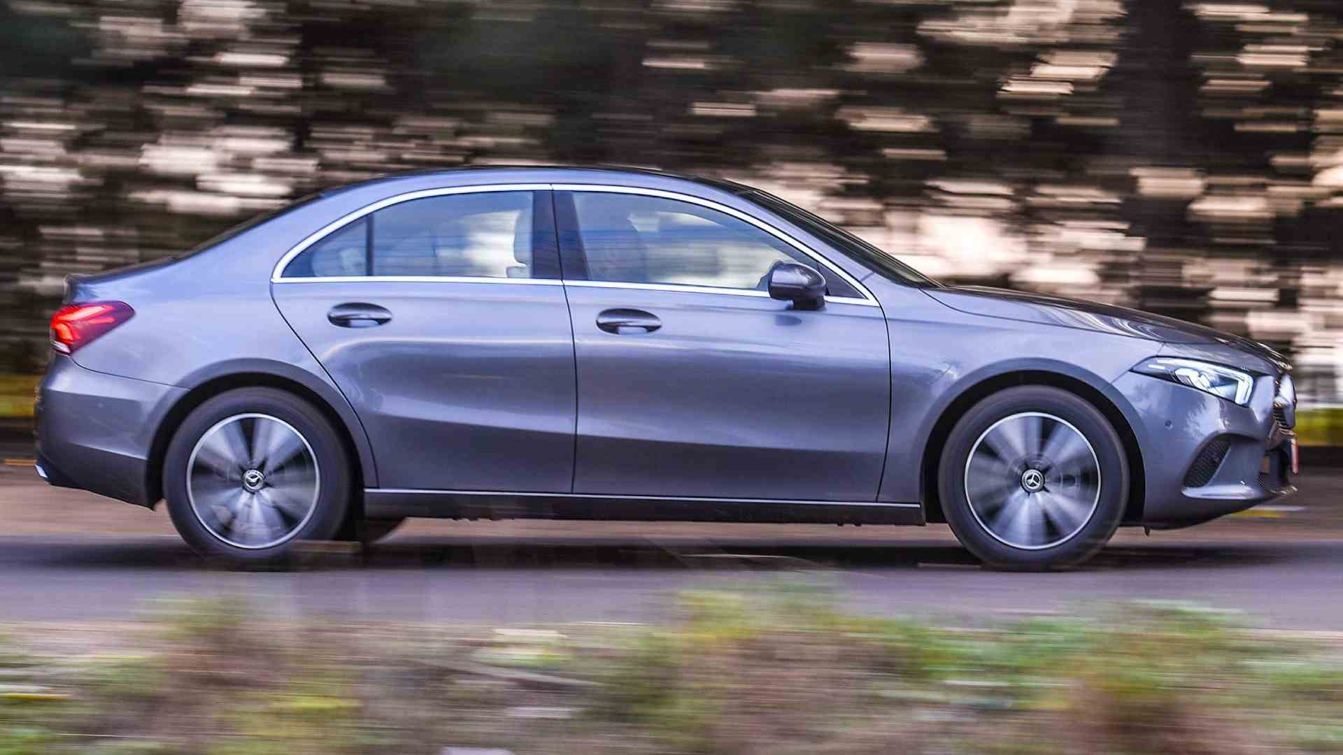 On the move, the A-Class Limousine feels agile and light on its feet. Image: Overdrive/Anis Shaikh