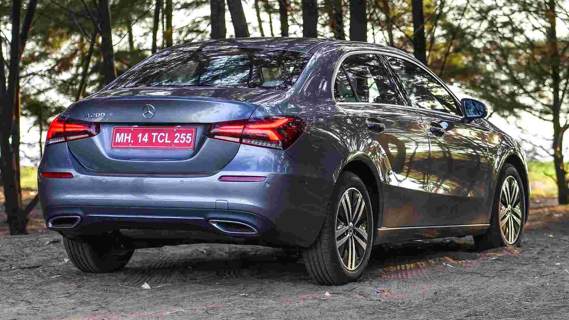 The Mercedes A-Class Limousine's prices in India are expected to be upwards of Rs 40 lakh. (ex-showroom). Image: Overdrive/Anis Shaikh