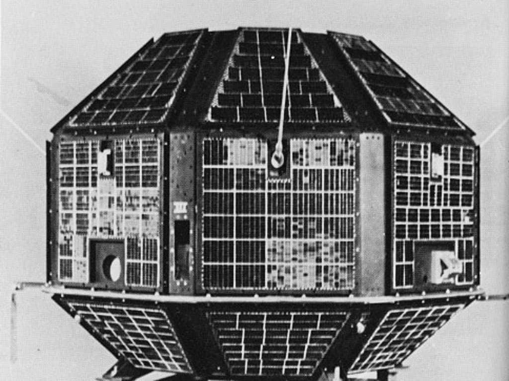 Aryabhata was India's first satellite to launch into space. Image credit: ISRO
