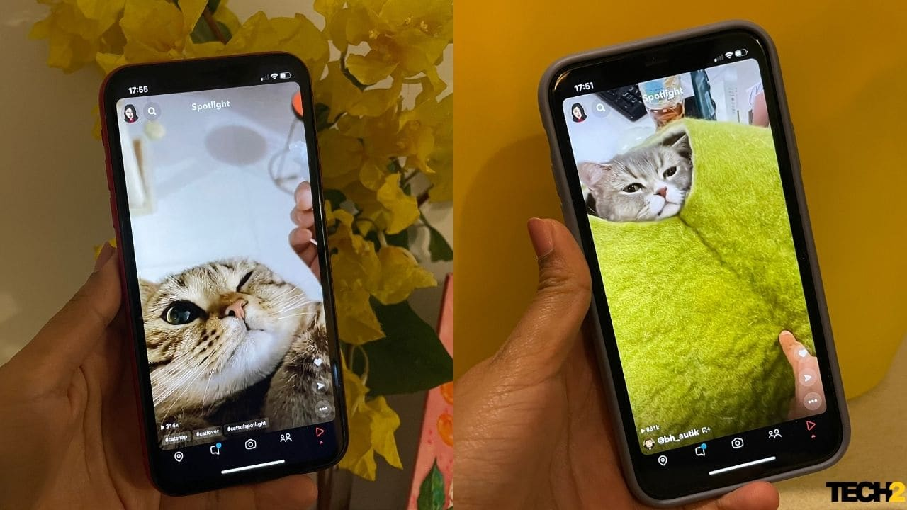 Snapchat Spotlight, a new TikTok and Instagram Reels-like feature, announced in India
