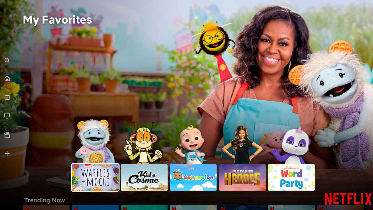 Netflix redesigns Kids profile to show most-watched titles and characters on the homepage