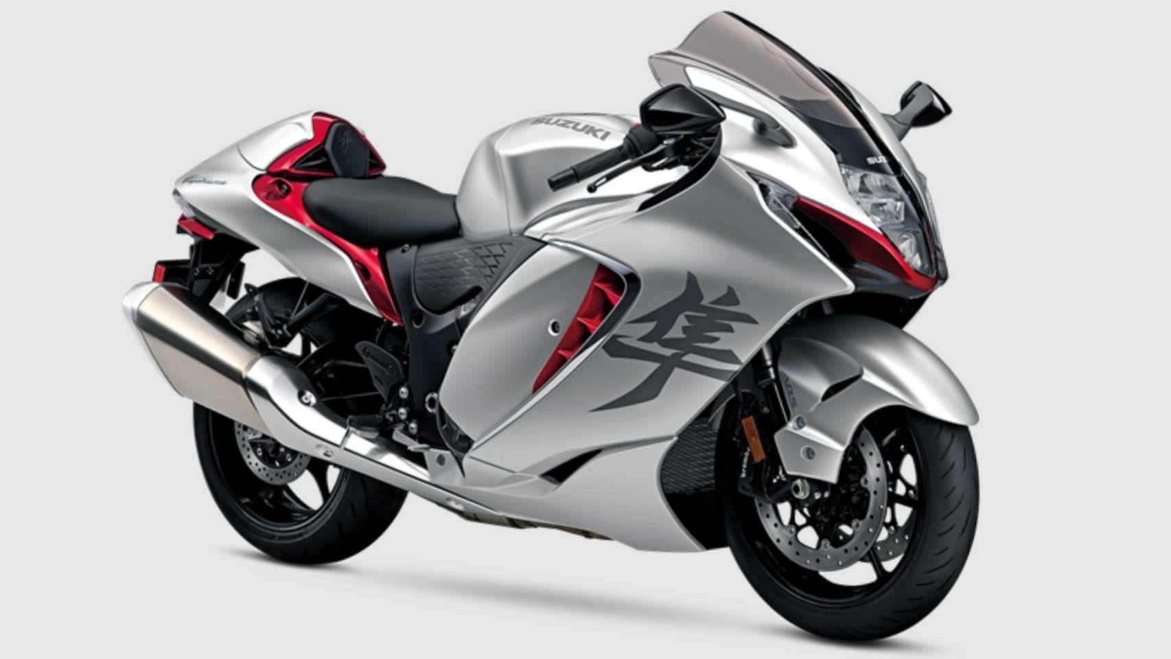Suzuki claims the new Hayabusa's drag coefficient is among the best in the world for street-legal motorcycles. Image: Suzuki