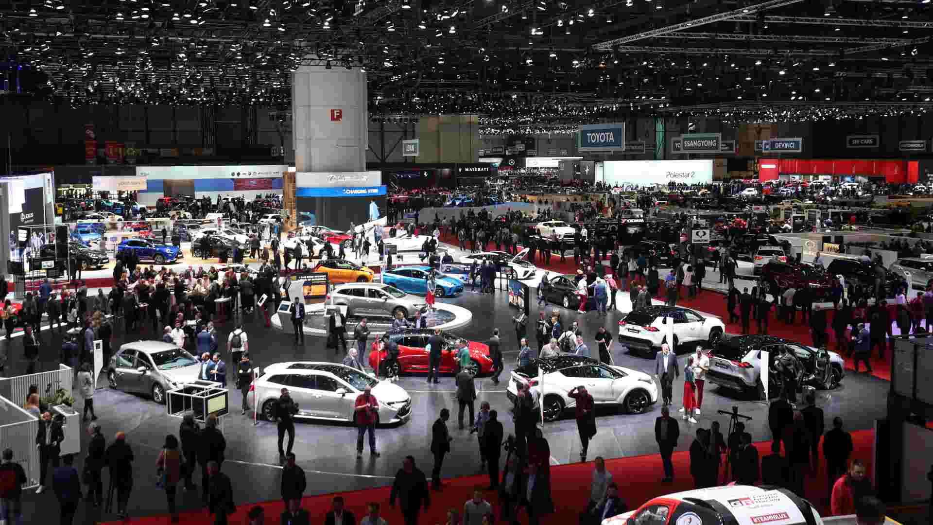 The most recent edition of the Geneva motor show was held in 2019. Image: Newspress