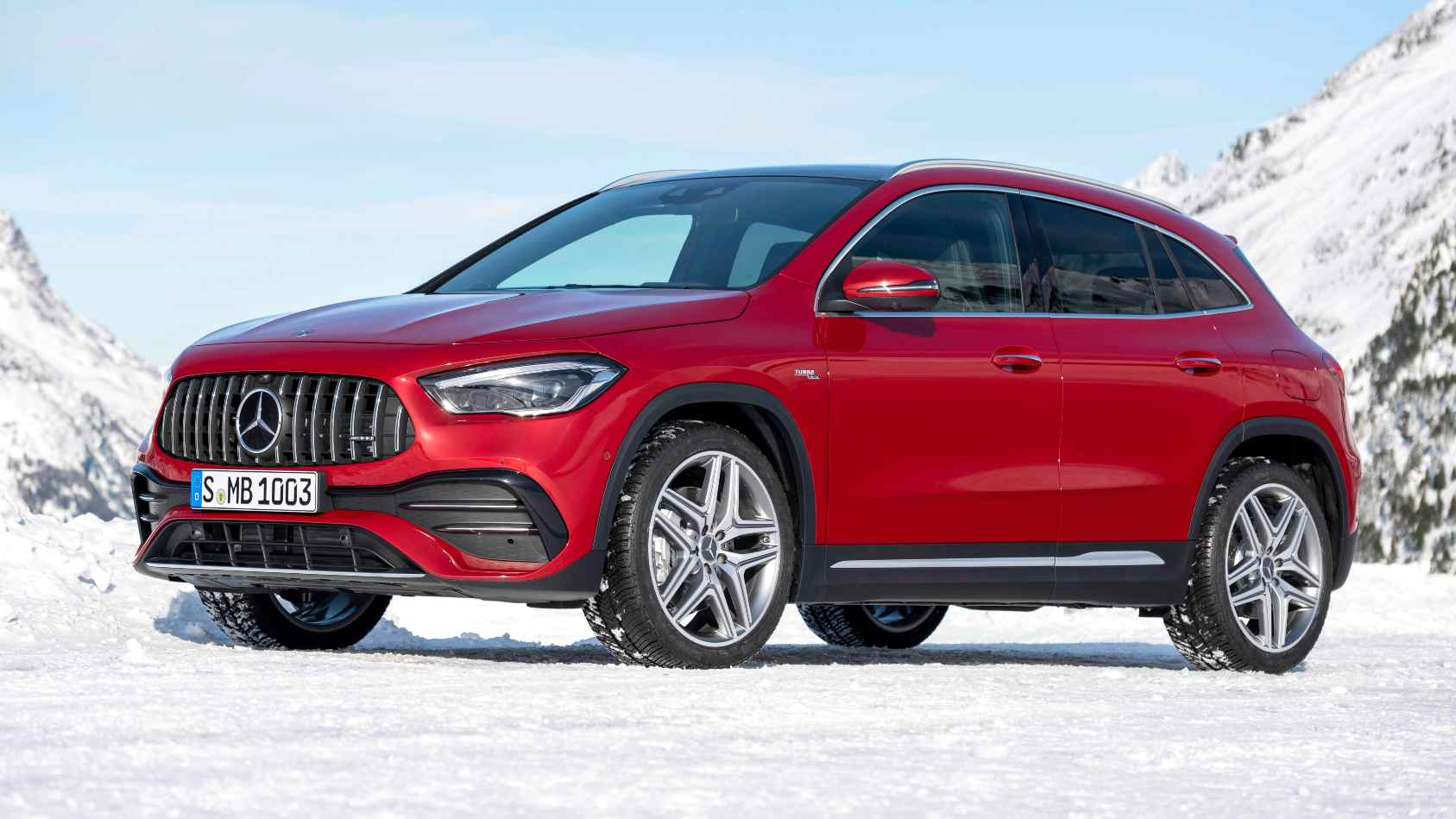 The GLA 35 is the third Mercedes-AMG model to be locally produced in India. Image: Mercedes-Benz