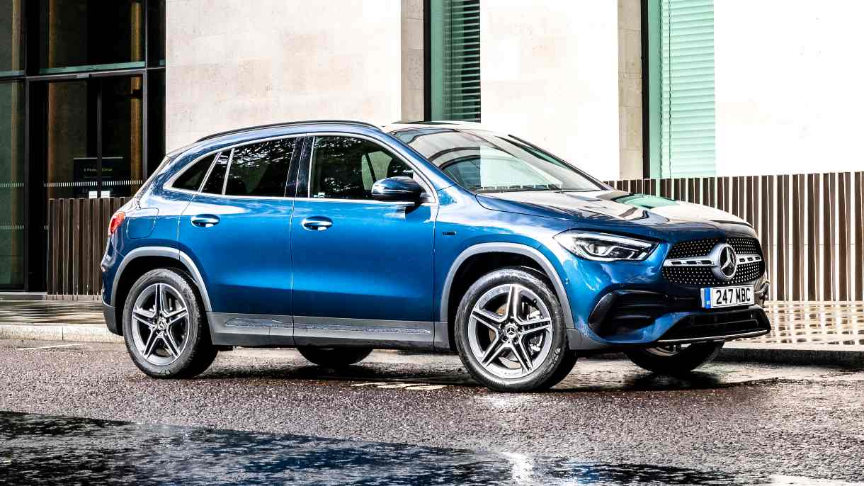 The new Mercedes-Benz GLA has a more upright and SUV-like appearance than its predecessor. Image: Mercedes-Benz
