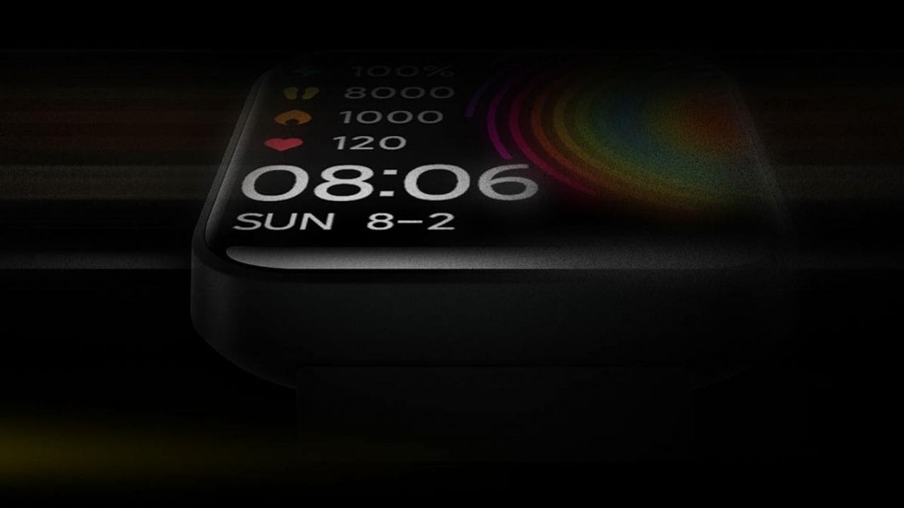 Redmi smartwatch teaser. Image: Xiaomi events page
