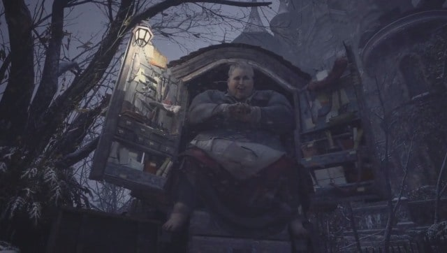 A one-stop shop for all your vampire-hunting needs. Screen grab from Resident Evil: Village.