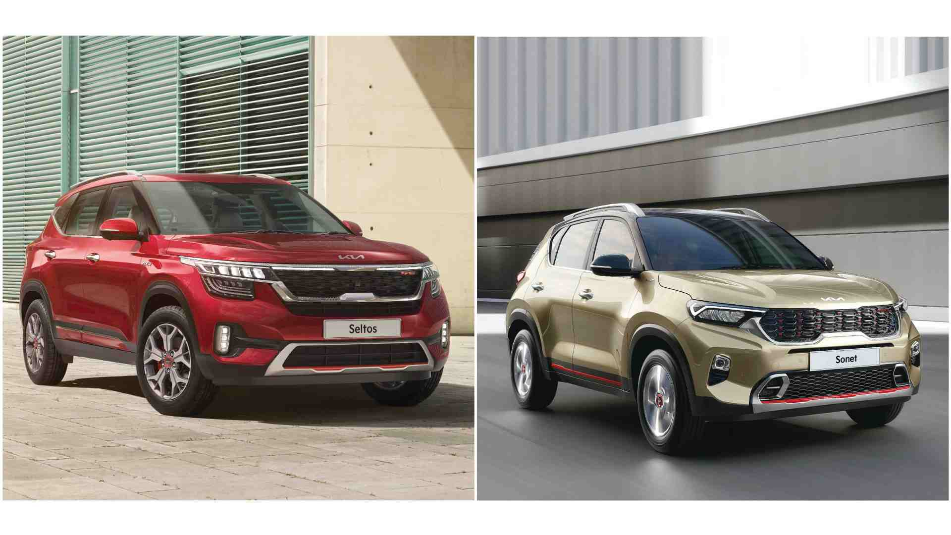 Both the 2021 Kia Seltos as well as the Kia Sonet now offer electronic stability control in a wider range of variants. Image: Kia