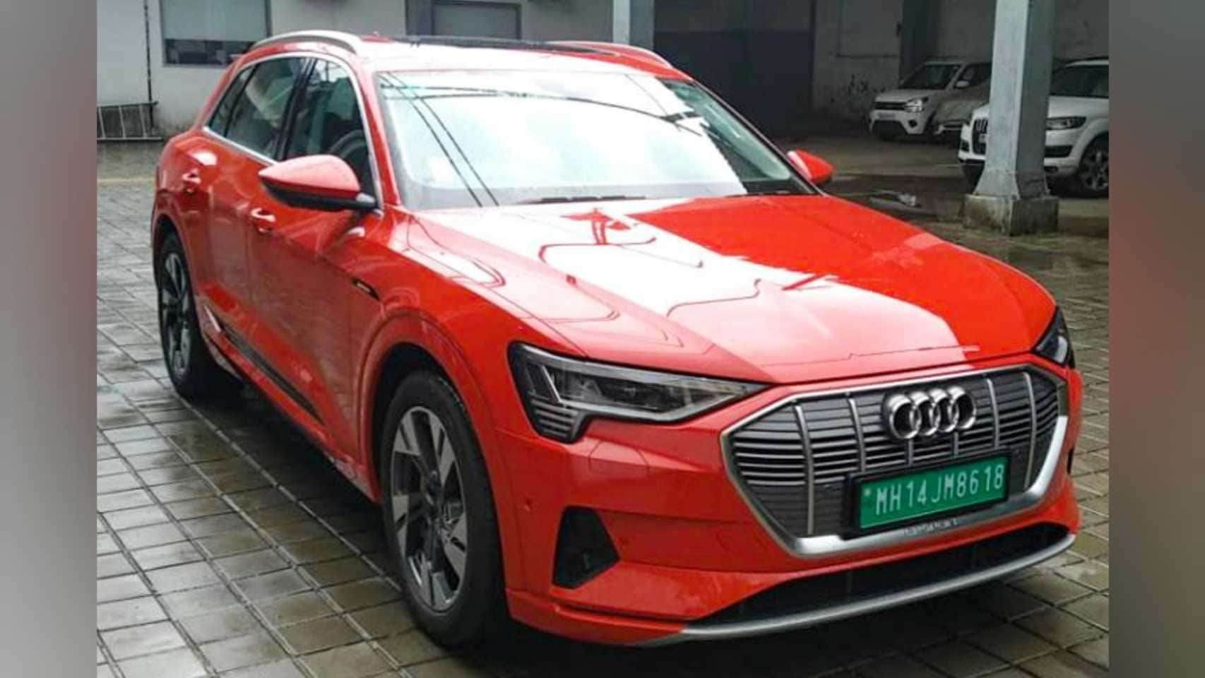 The Audi e-tron is expected to have a range of over 400 kilometres on a full charge. Image: Audi India