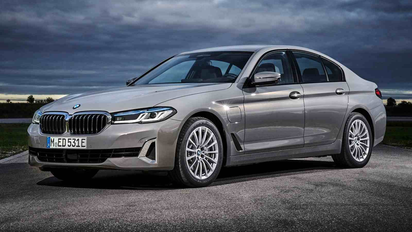 The 2021 BMW 5 Series facelift follows the launch of the updated 6 Series GT. Image: BMW