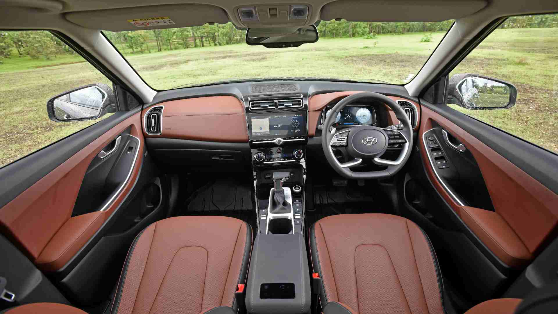 The Alcazar is pretty spacious on the inside, and is well put together. Image: Hyundai