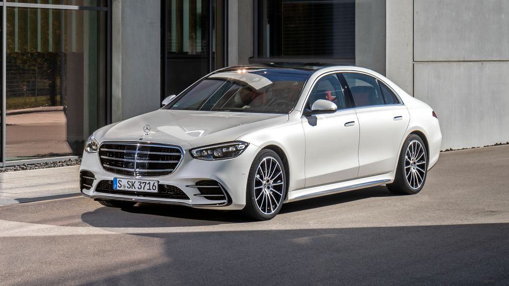 Mercedes-Benz says the new S-class is one of the most aerodynamically efficient cars in the world, with a drag co-efficient of 0.22cd. Image: Mercedes-Benz