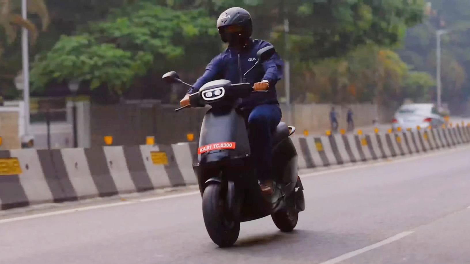 Launch of Ola's electric scooter is understood to be just around the corner. Image: Ola Electric