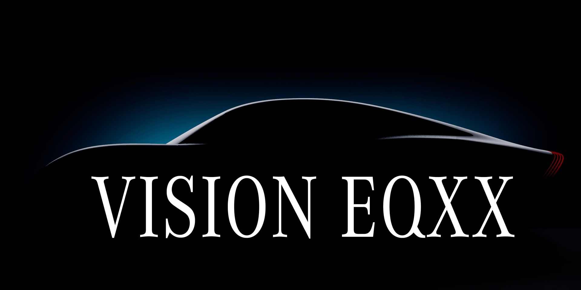 The Mercedes-Benz Vision EQXX will have a targeted real-world range of 1,000 km. Image: Mercedes-Benz