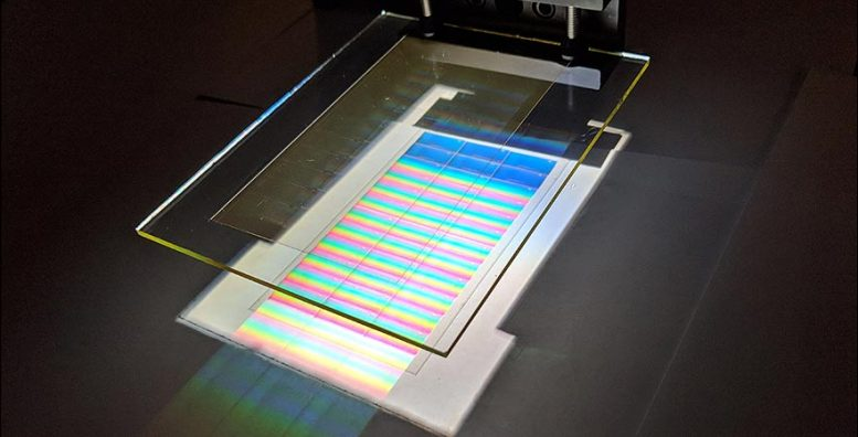 Holographic Light Collector Solar Cells