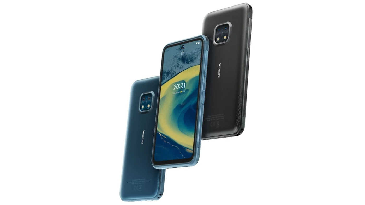 The Nokia XR20 will come with four years of monthly security updates and OS upgrades for three years. Image: Nokia
