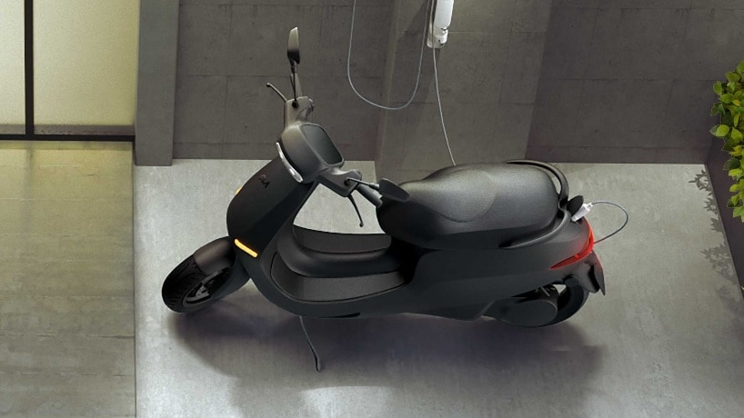The Ola Electric scooter is said to have class-leading acceleration and range. Image: Ola Electric