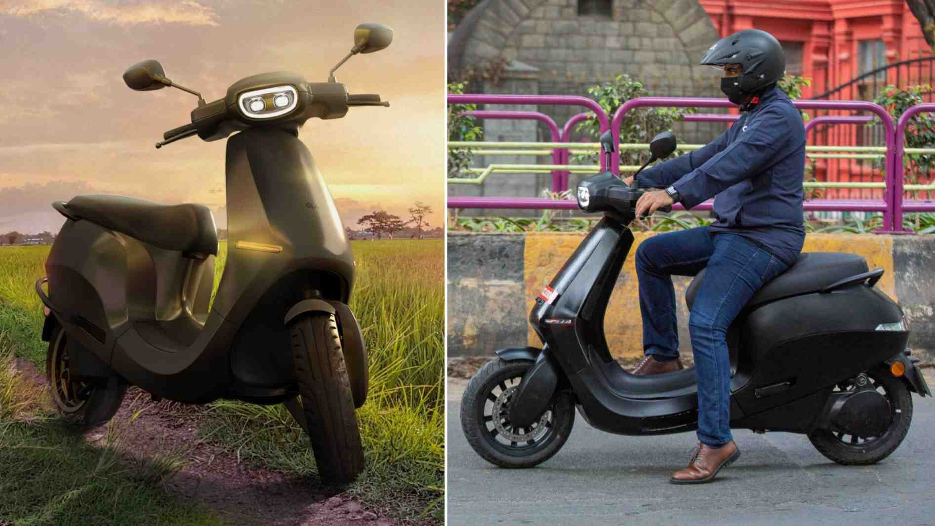 The Ola electric scooter is said to have class-leading acceleration and range figures. Image: Ola Electric/Tech2