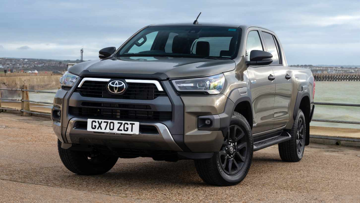 The Toyota Hilux is one of three models available via the barter system. Image: Toyota
