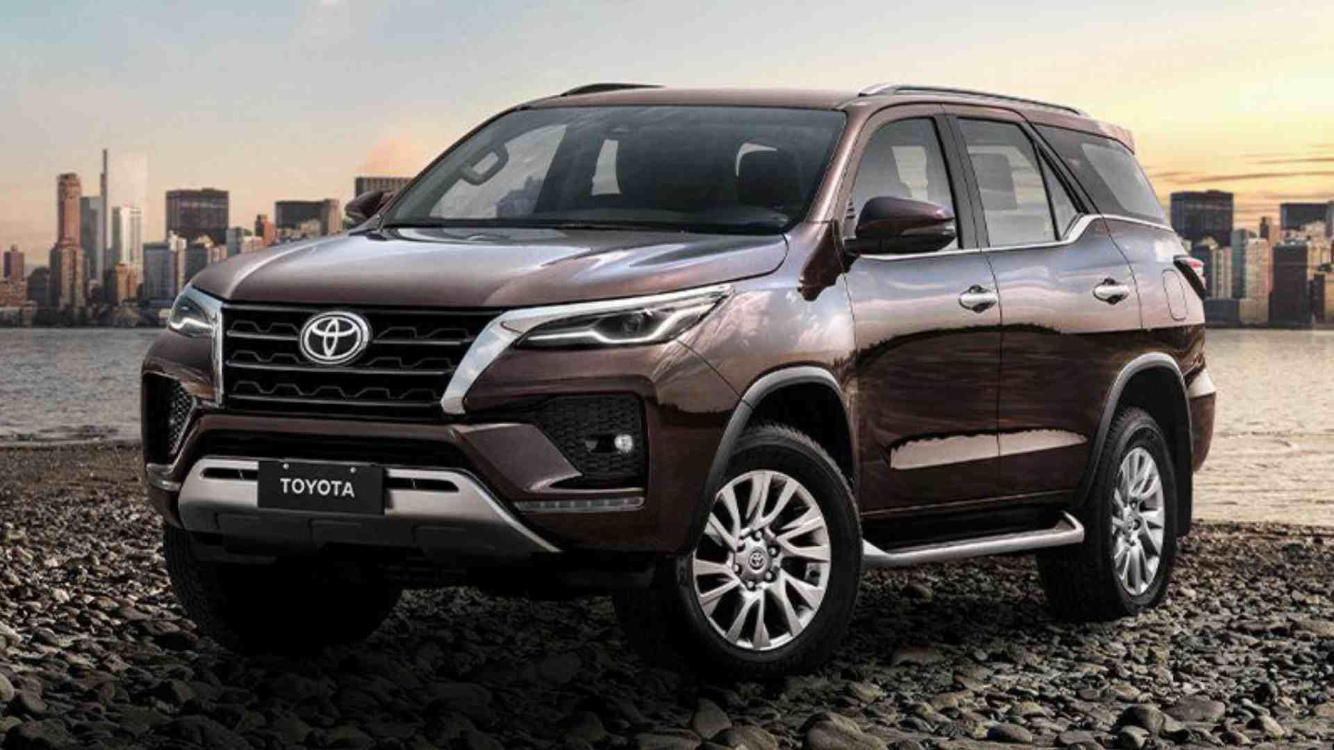 Toyota Brazil will accept corn or soybean in exchange for its SUVs. Image: Toyota