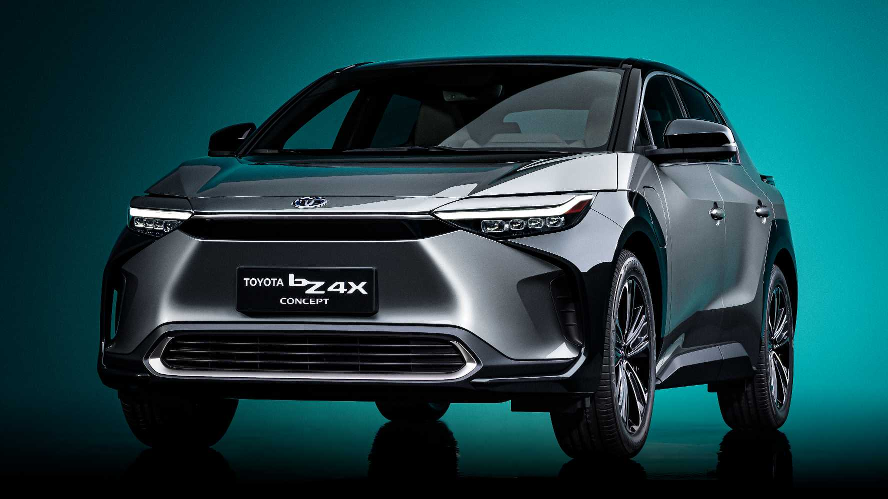 Toyota's first global BEV, the bZ4x SUV, is only set to enter production by 2022. Image: Toyota