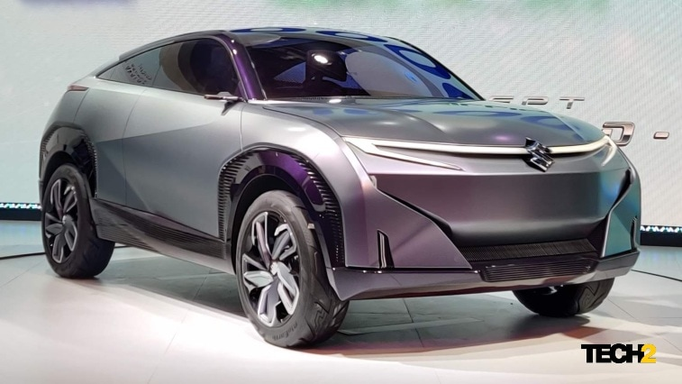 Suzuki's mid-term plan includes a BEV that will be launched in India in the next three years. Image: Tech2/Amaan Ahmed
