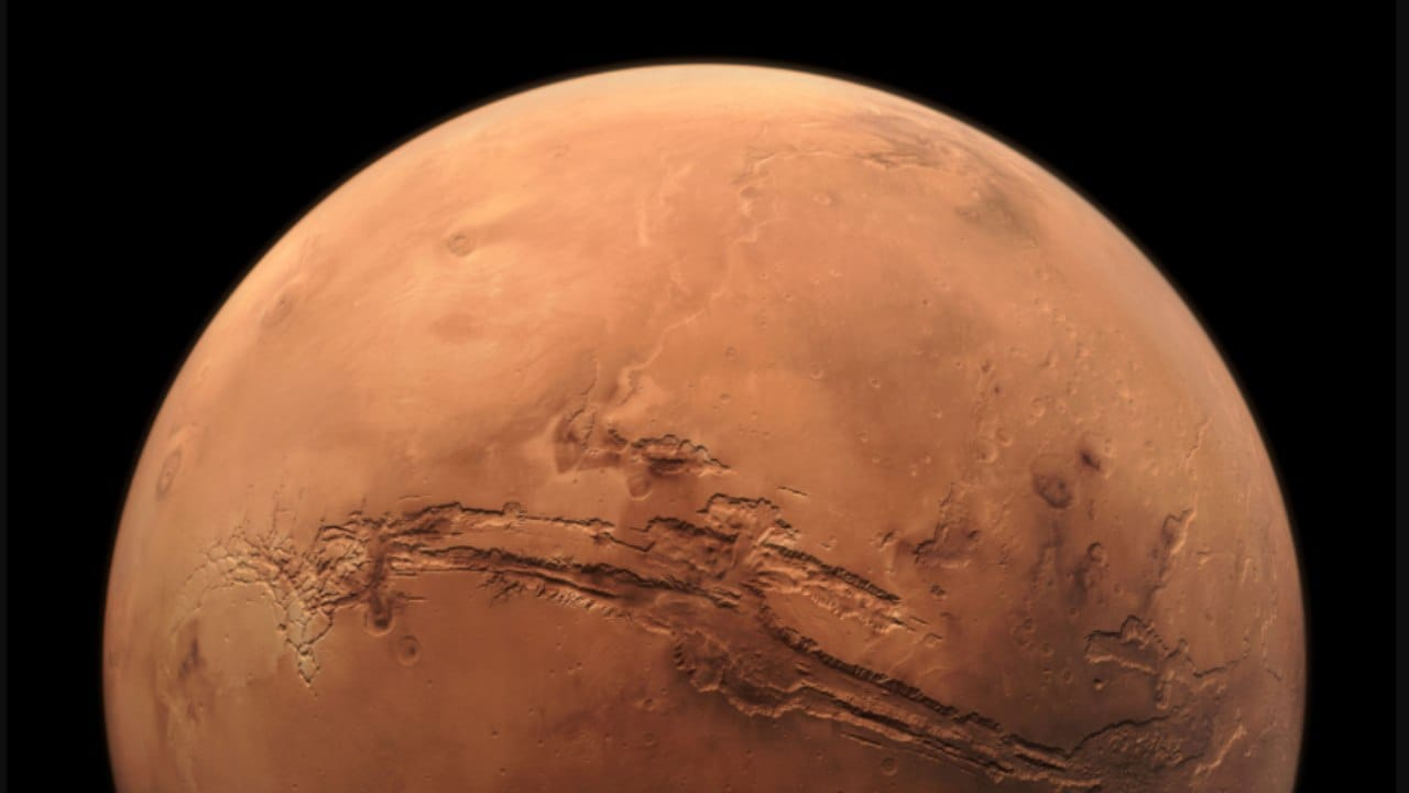 In 1609 Italian Galileo Galilei observed Mars with a primitive telescope and in doing so became the first person to use the new technology for astronomical purposes. Imagte credit: NASA