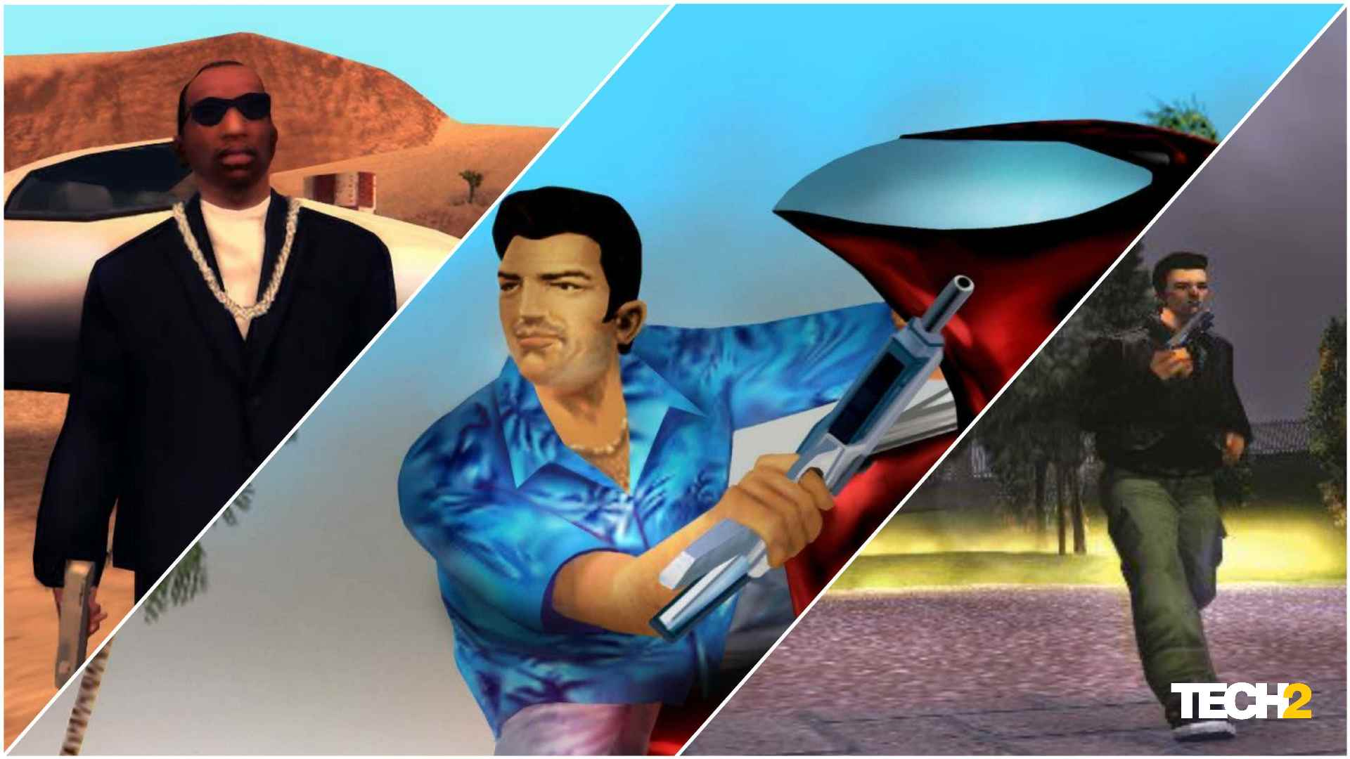 Remasters of the iconic GTA games will retain the look and feel of the original titles. Image: Tech2/Amaan Ahmed