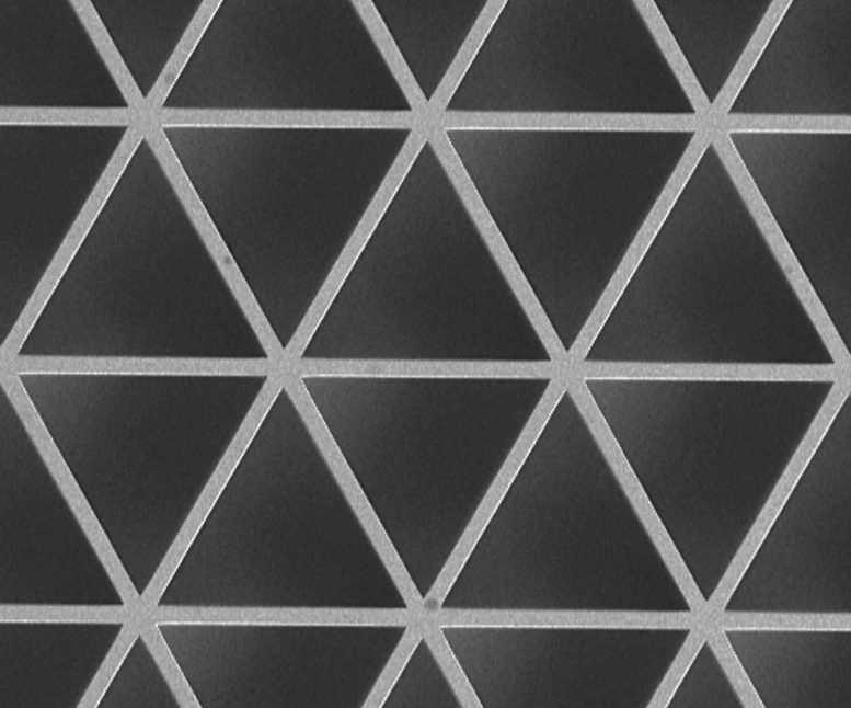 Triangles Material Topology