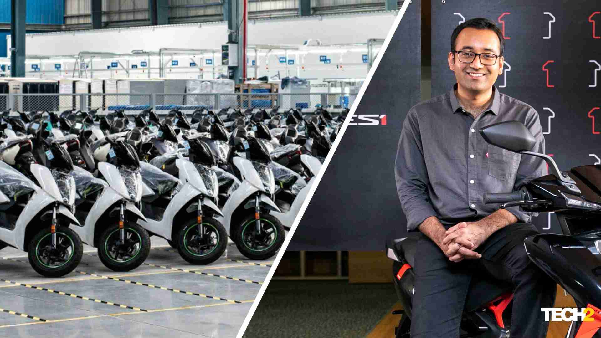 Ather Energy CEO Tarun Mehta believes rapid expansion of the fast-charging network will lead to a rise in sales. Image: Ather Energy