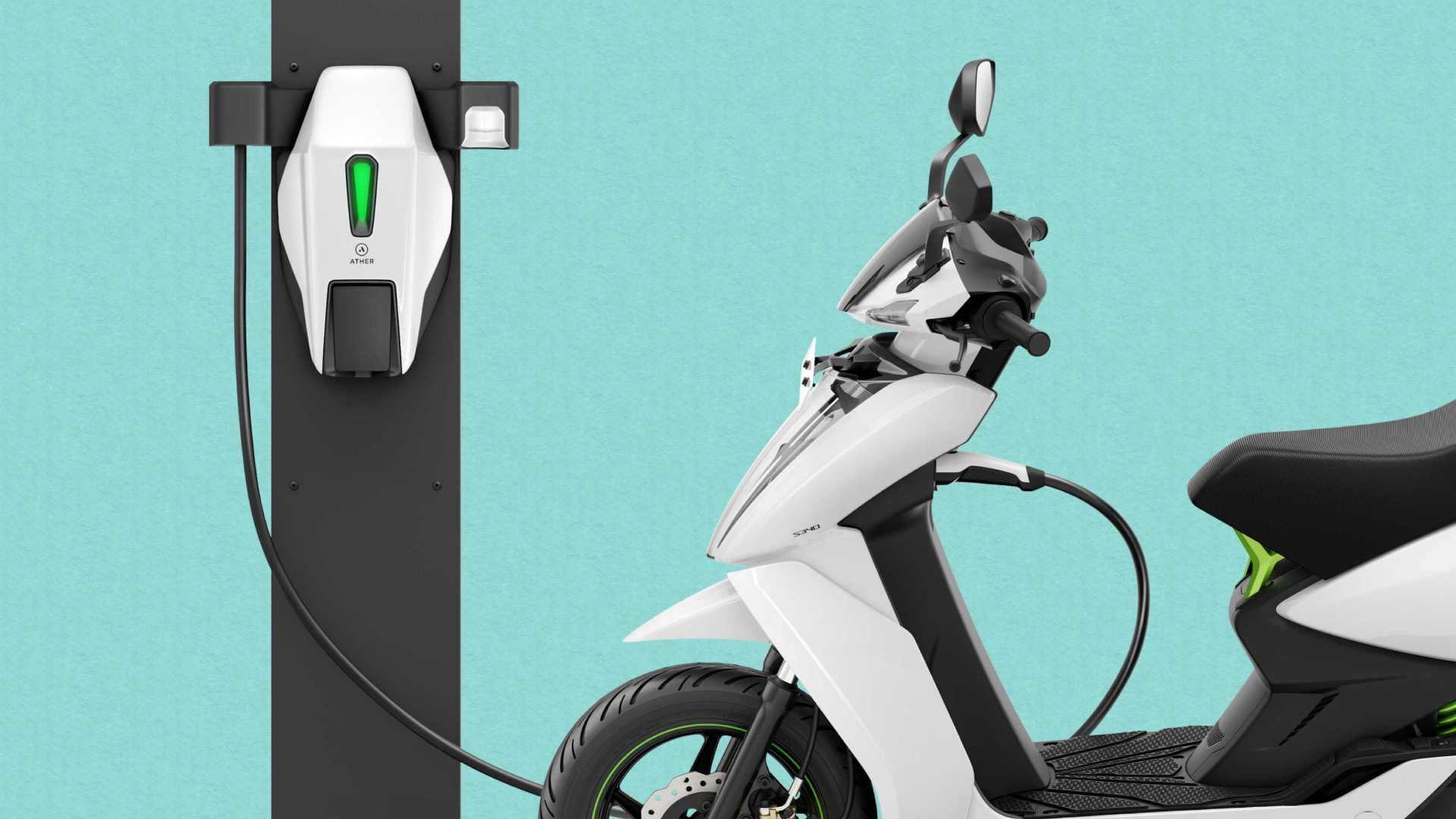 The Ather Grid fast charger has a 3 kW power output. Image: Ather Energy