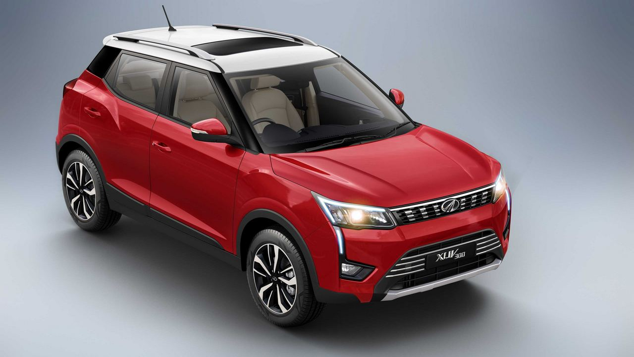 The mStallion engine will bless the XUV300 with an additional 20 hp and 30 Nm of torque. Image: Mahindra