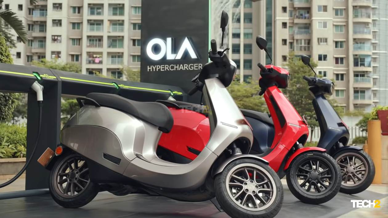 The S1 and S1 Pro are only the first in a range of electric two-wheelers Ola Electric plans to launch in the coming years. Image: Ola Electric